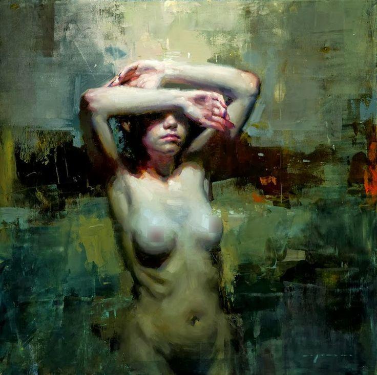 Jeremy MANNJeremy Mann, Mann Style, Art Inspiration, Panels 2013, Open Burial, Artists Nude, Figures Painting, Juxtapoz Magazines, Figures Work