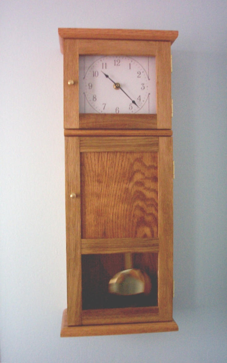Shaker style wall clock inspired by klockit pinterest for Shaker wall clock kit
