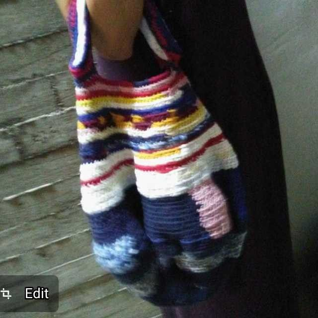 Originals Crochet bags making with recycle materials