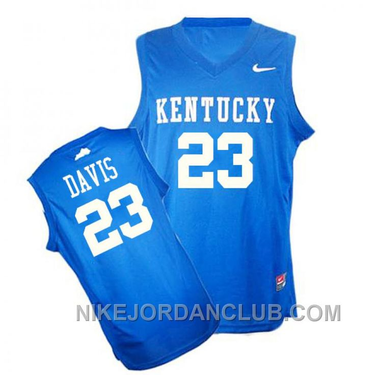 http://www.nikejordanclub.com/ncaa-kentucky-wildcats-23-anthony-davis-authentic-blue-jersey-top.html NCAA KENTUCKY WILDCATS #23 ANTHONY DAVIS AUTHENTIC BLUE JERSEY TOP Only $89.00 , Free Shipping!