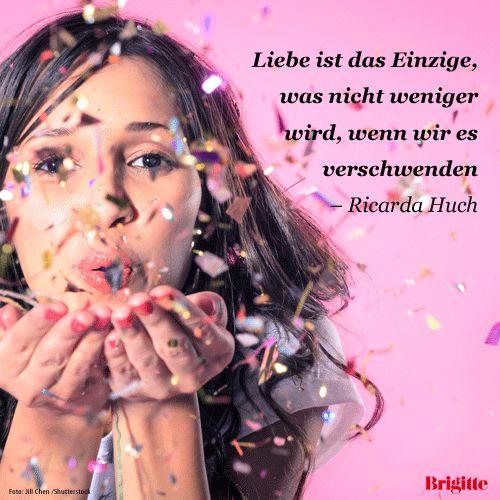 Liebe ist das Einzige, was nicht weniger wird, wenn wir es verschwenden. - Ricarda Huch