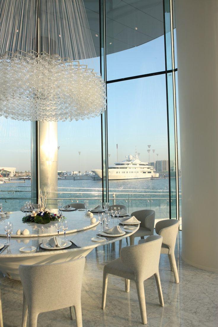... A yas marina view from nautilus restaurant at yas viceroy abu dhabi & Canopy Restaurant Abu Dhabi u2013 dikimo