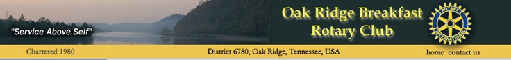 Oak Ridge Breakfast Rotary Club