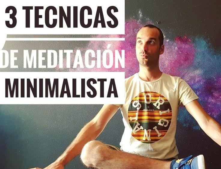 ¿Quieres aprender a meditar? Te enseño tres técnicas super fáciles para empezar. https://callateyhazyoga.com/blog/tres-tecnicas-de-meditacion #yogaencasa #yogaprincipiantes #mindfulness #meditacion #asanas #callateyhazyoga