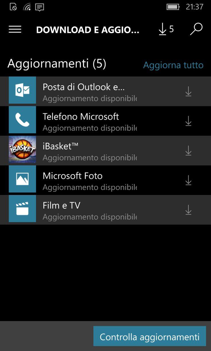 Le app Portafoglio, Film e TV, Foto, Telefono, Groove Musica e Posta di Outlook per Windows 10 si aggiornano http://www.sapereweb.it/le-app-portafoglio-film-e-tv-foto-telefono-groove-musica-e-posta-di-outlook-per-windows-10-si-aggiornano/         Updates per Windows 10  Microsoft continua a migliorare l'esperienza d'uso di Windows 10 attraverso l'aggiornamento delle sue core app. Nelle ultime ora ha infatti rilasciato nuove versioni di Portafoglio, Film e TV, Foto, Te