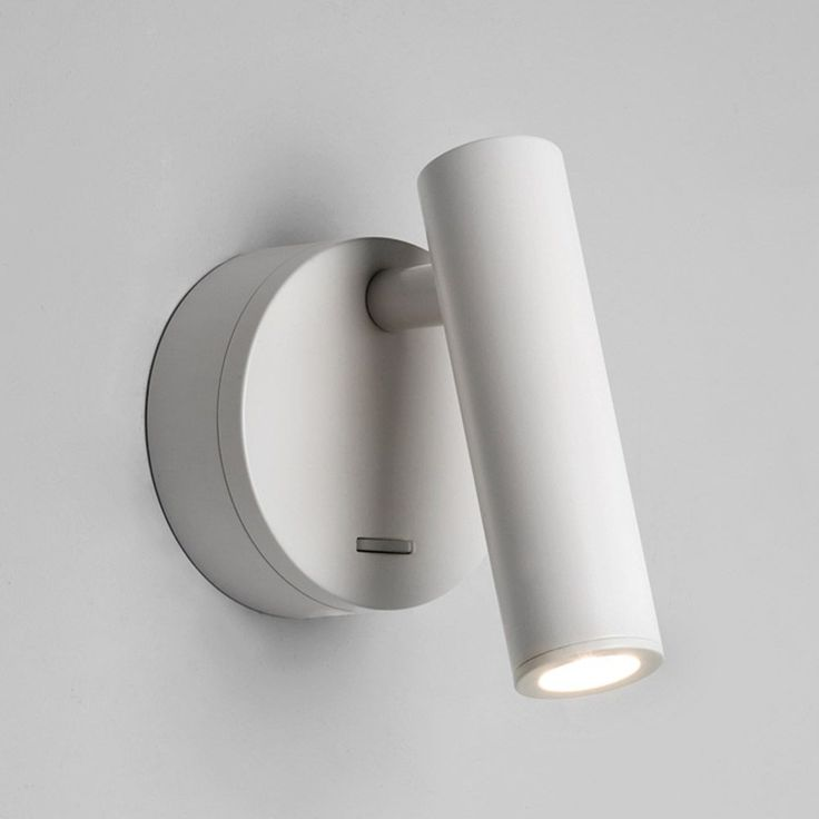 The Enna LED Reading Light is Switched and comes in a White Finish. Position next to your Bed for a Perfect Light for Night Time Reading. Astro…