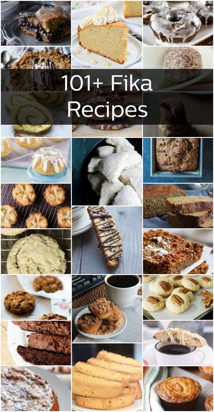 101 Recipes for a Swedish-Style Coffee Break (called a fika)