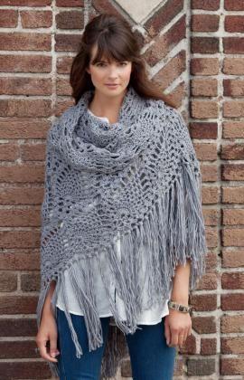 Häkelmuster für Schal zum Ausgehen