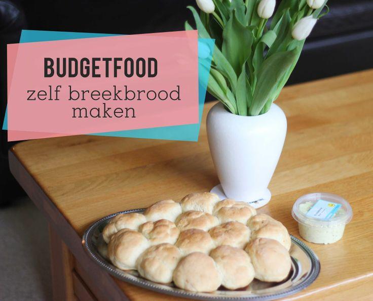 Budgetfood | Zelf breekbrood met kruiden maken