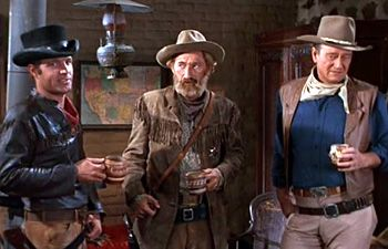 images from john wayne movie El Dorado