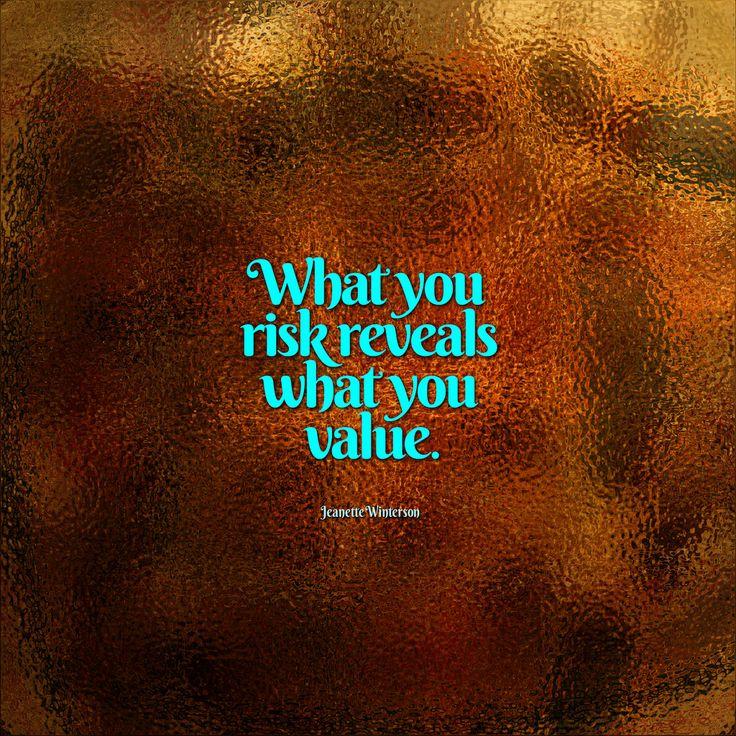 Fina is a risk-taker...