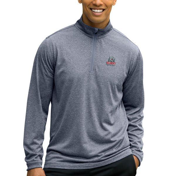 Belmont Bruins Mesh Tech 1/4-Zip Pullover Sweater - Charcoal - $50.00