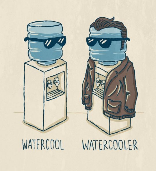 .: Laughing, Funny Captions, Water Coolers, Funny Pictures, Funny Stuff, Leather Jackets, Humor, Watercool, Funnystuff