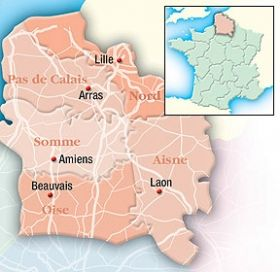 Nord Pas de Calais and Picardie holiday guide - Regions in France