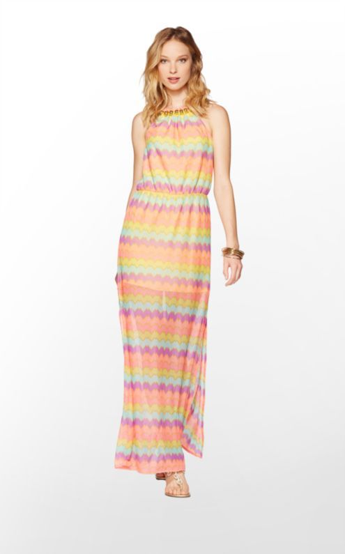Lilly Pulitzer® Inna Maxi Dress available at #Nordstrom. Would ...