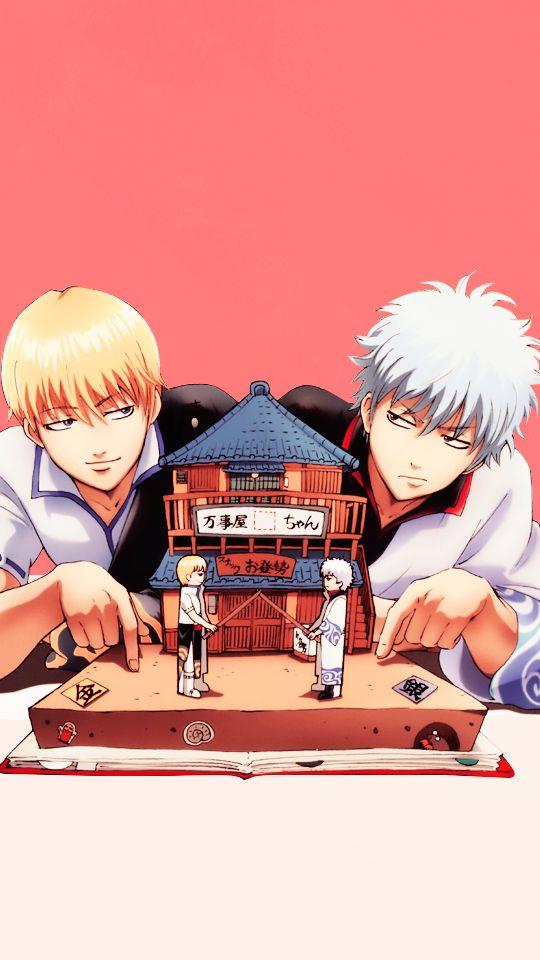 Kintoki and Gintoki
