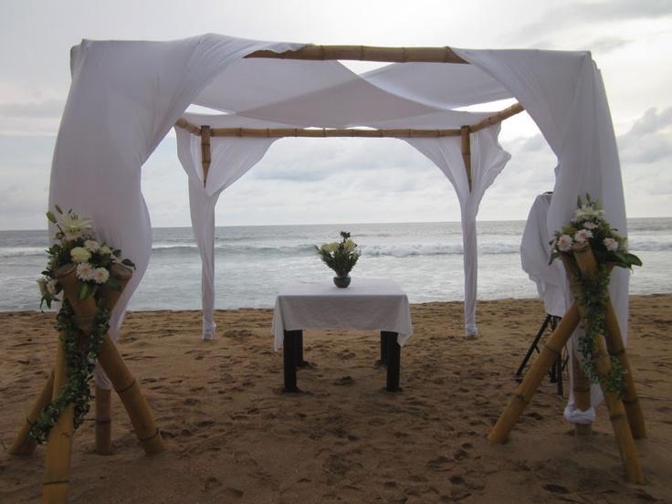Beach Wedding Altar-Photos by Tina Winterlik © 2012