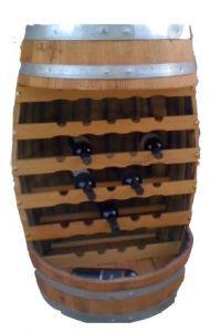 Botte - Cantinetta per una capienza massima di 29 Bottiglie piano d'appoggio o per la degustazione.