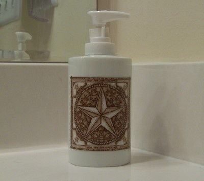 Texas Lone Star Soap Dispenser Texas Home Decor
