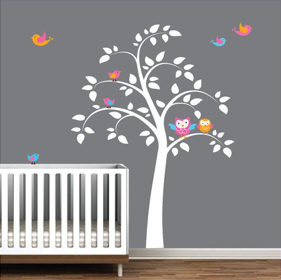 Vinyl Wall Decals Stickers Tree Wall Decals by Modernwalls on Etsy, $89.00 https://www.etsy.com/shop/Modernwalls