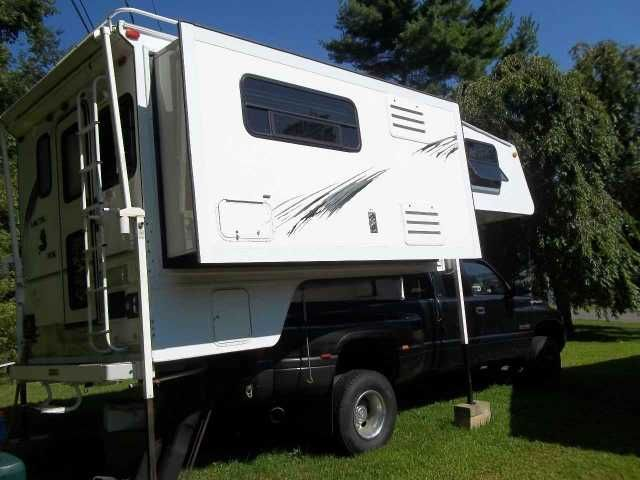 2003 Used Northwood Mfg Arctic Fox 1150 Truck Camper in Vermont VT.Recreational Vehicle, rv, Completely restored and better than new. New roof, two 250 watt solar panels, two new glass batteries, new skins, reinforced side and floor, slide out and elec. jacks rebuilt, micro,conventional oven, ac, heater,awning, onan gen.,radio/cd player, 3 way refrig.,luggage rack and ladder,furnace, etc. etc....price is list price with repairs and added improvements. $25,438.00 is the list price now with…