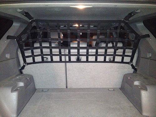 2002 - 2009 Toyota 4 Runner, Prado, Lexus GX (J120) above seat barrier divider net