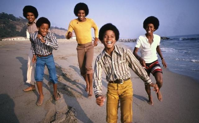 Tito, Marlon, Jackie, Michael and Jermaine of the Jackson 5