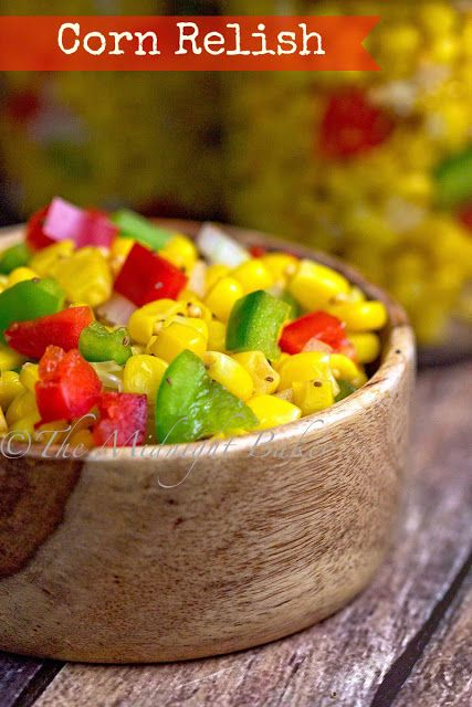 how to make sweet corn relish