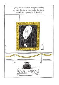 """Thomas Bernhard (tekst), Nicolas Mahler (sc. & rys.), """"Dawni mistrzowie. Komedia rysowana przez Mahlera"""", Wydawnictwo Komiksowe, 2016."""