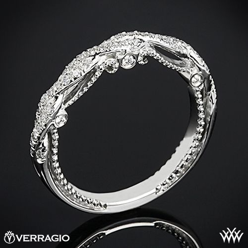 Verragio Beaded Braid Diamond Wedding Ring This Diamond Wedding Ring is from the Verragio Insignia Collection. - this will be my eternity ring!