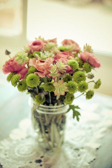 DIY un bouquet de succulentes