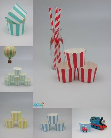 Some of our cupcake baking cup selection!
