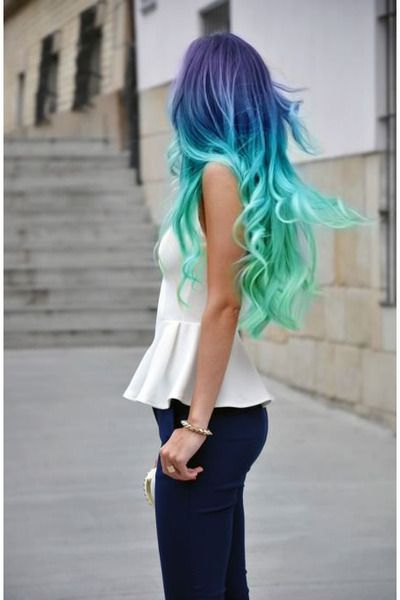 Mermaid hair!