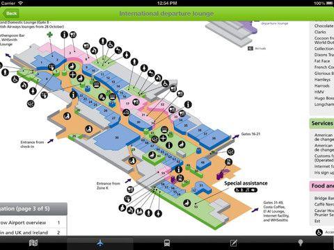 Guía mapa Offline de Londres para iOS | iPad Books