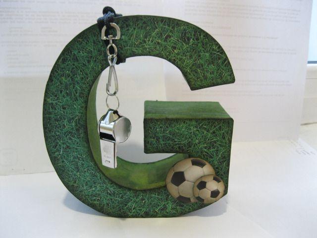 Goooooool scrap and futbol - Letras decoradas scrap ...