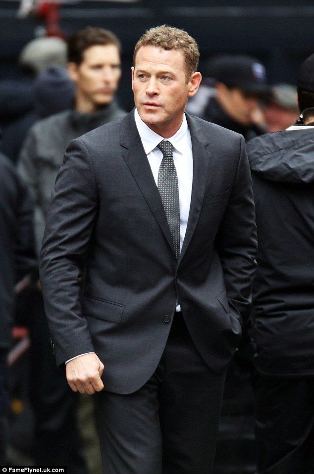 Love rival: Max Martini was also on the set of Fifty Shades Darker...