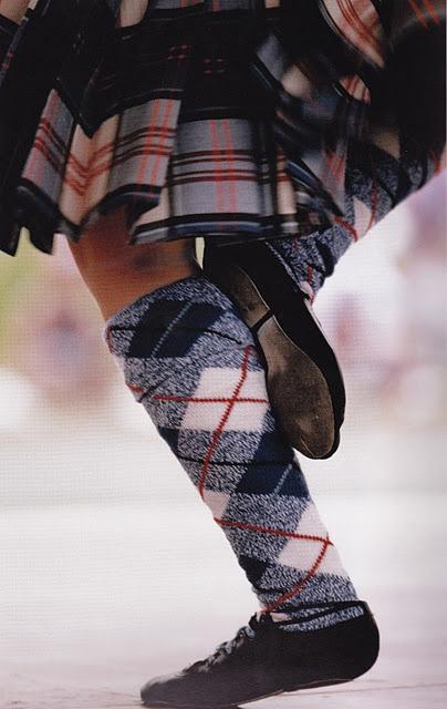 Scottish Highland dancer