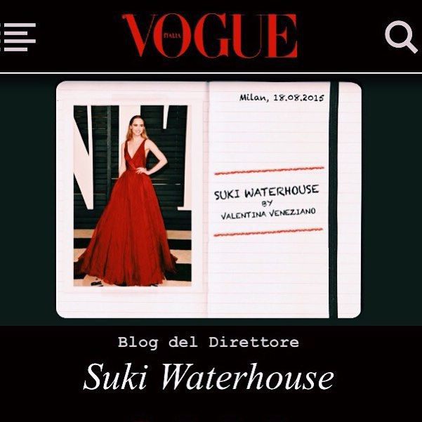 23 best covers images on pinterest magazine covers vogue covers suki waterhouse suki waterhouseitaliaitaly fandeluxe Gallery
