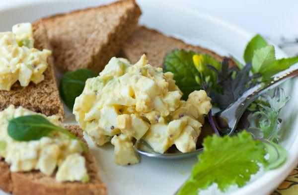 Everbody get ready for Spring -Springtime Egg Salad!