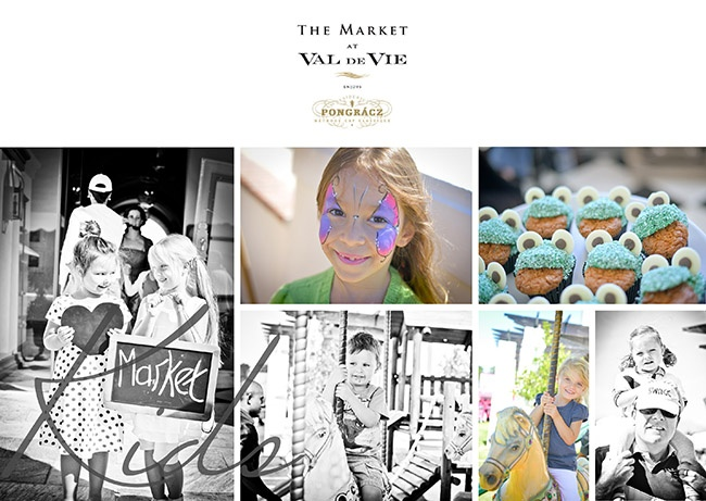 Val de Vie is a family estate. Why would The Market at Val de Vie be any different. Pony rides, petting zoo, face paint and carousel rides for the little market lovers.