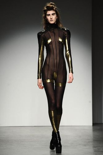 cyber / sci fi / women's fashion / urban wasteland inspiration