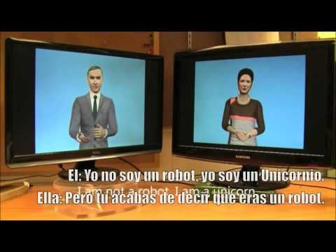 Conversacion entre 2 Inteligencias artificiales - YouTube