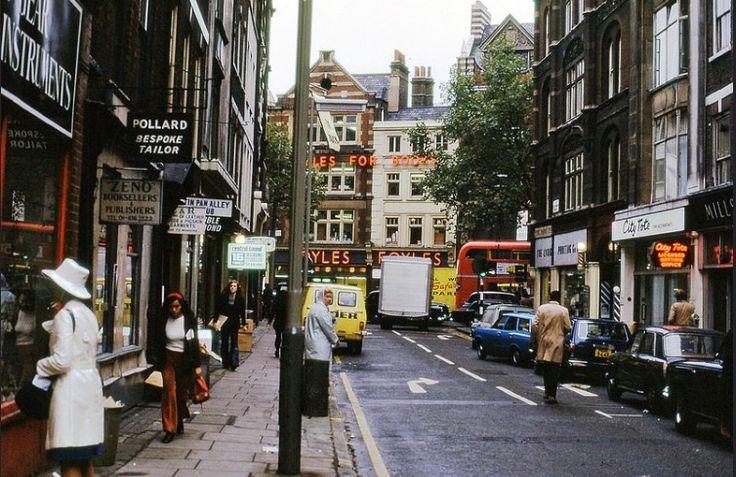 Denmark Street, WC2, 1972