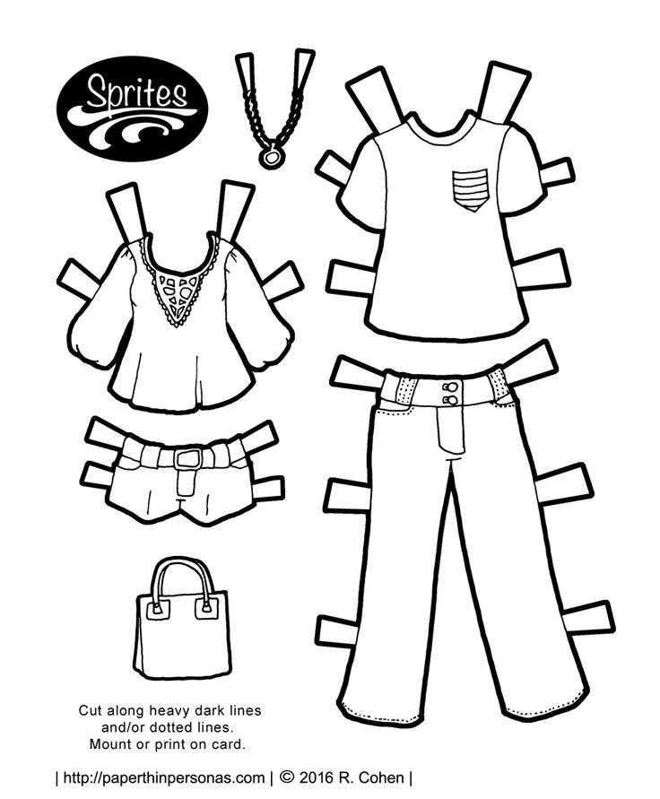 Unique Paper Dolls Clothing Ideas On   Vintage Paper