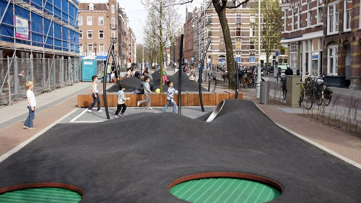 Potgieterstraat by Carve Landscape Architecture #urban #playground