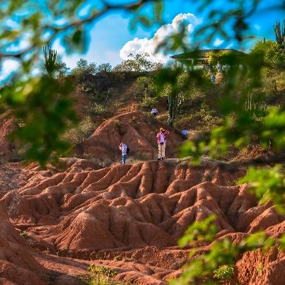 Piérdete en el desierto de la Tatacoa y descubre estos #paisajes maravillosos que con años ha formado la #naturaleza.