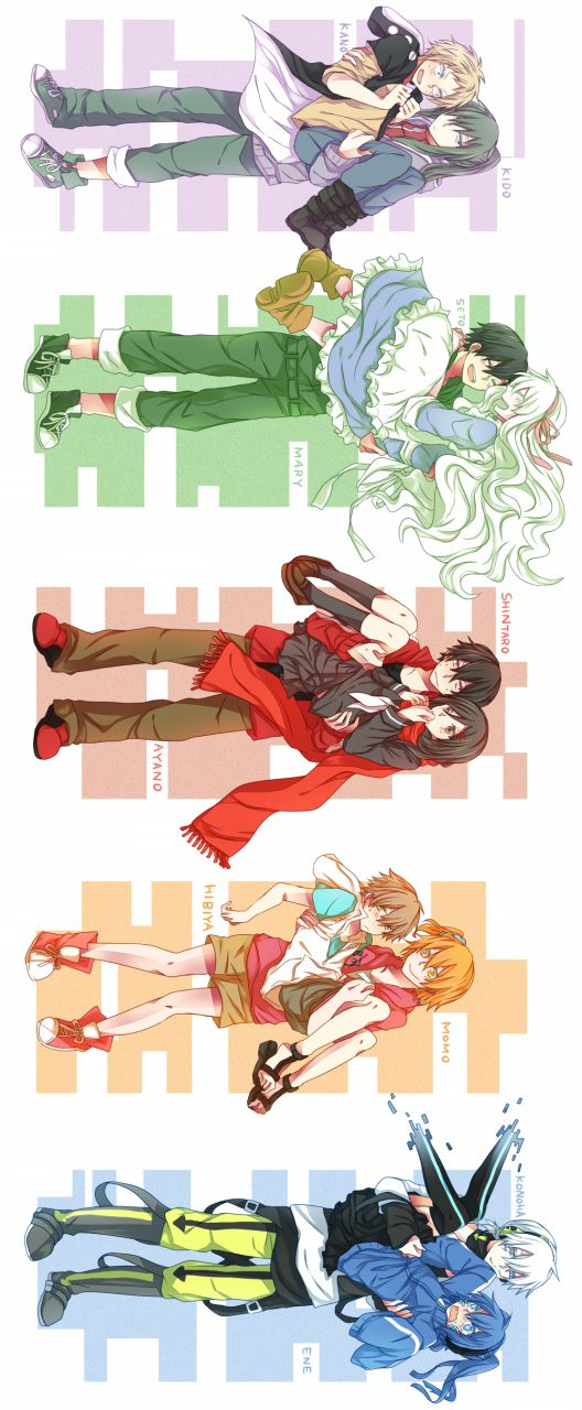 Mekakucity Actors HAHAHA so cute this is too funny tho esp kido x kano ahh otp