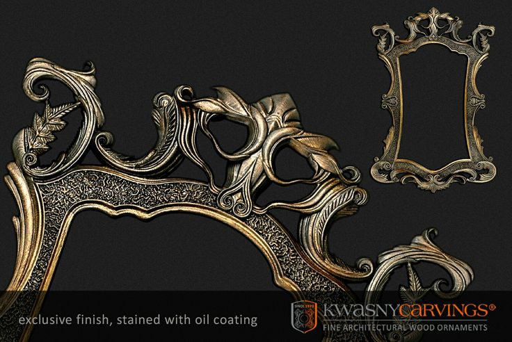Miroir cadre bois sculpté baroque #miroir #cadre #bois #sculpté #baroque #spejl #barokk #spiegel