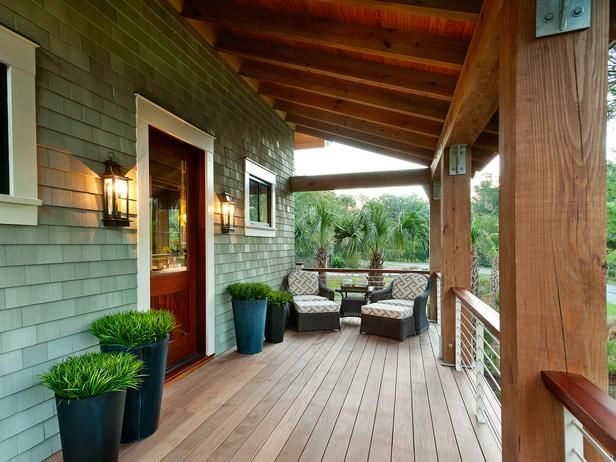 HGTV dream home front porch