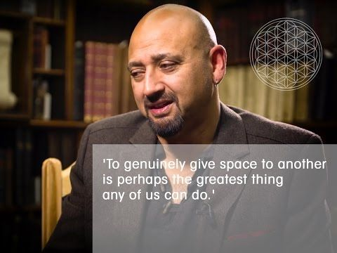 To genuinely give space to another is perhaps the greatest thing any of us can do. - YouTube